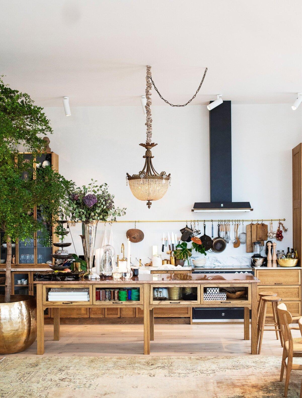 Vaade kööki.