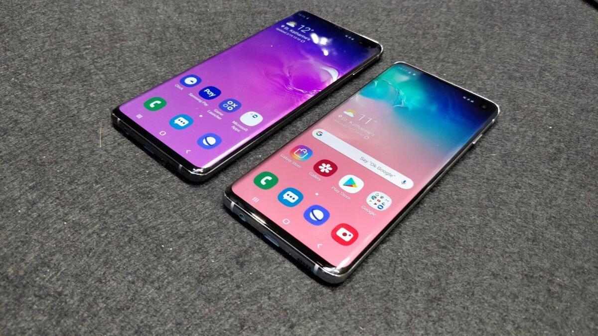 Samsung S10 ja S10+
