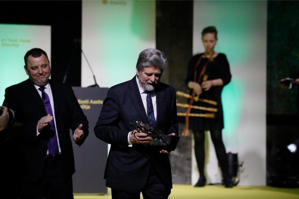 KÕVA TEGIJA: Mati Vetevool pälvis tunamullu oma saavutuste eest EY Aasta Ettevõtja konkursil elutööpreemia.