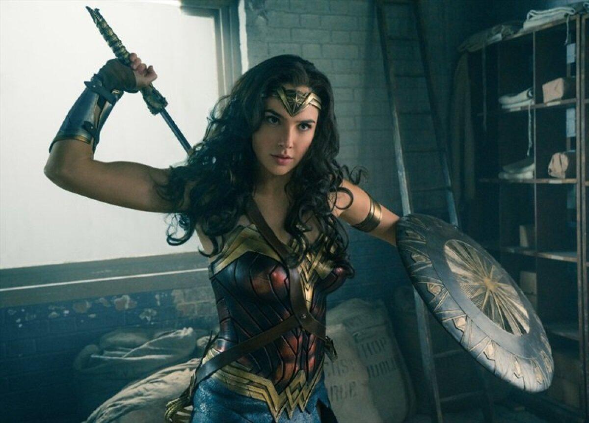 "Gal Gadot filmis ""Wonder Woman"""
