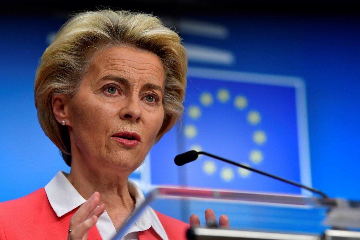 Euroopa Komisjoni president Ursula von der Leyen