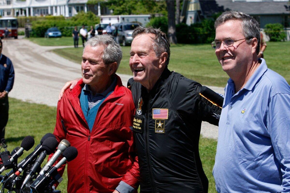 Jeb Bush elab kogu aeg oma isa ja venna varjus