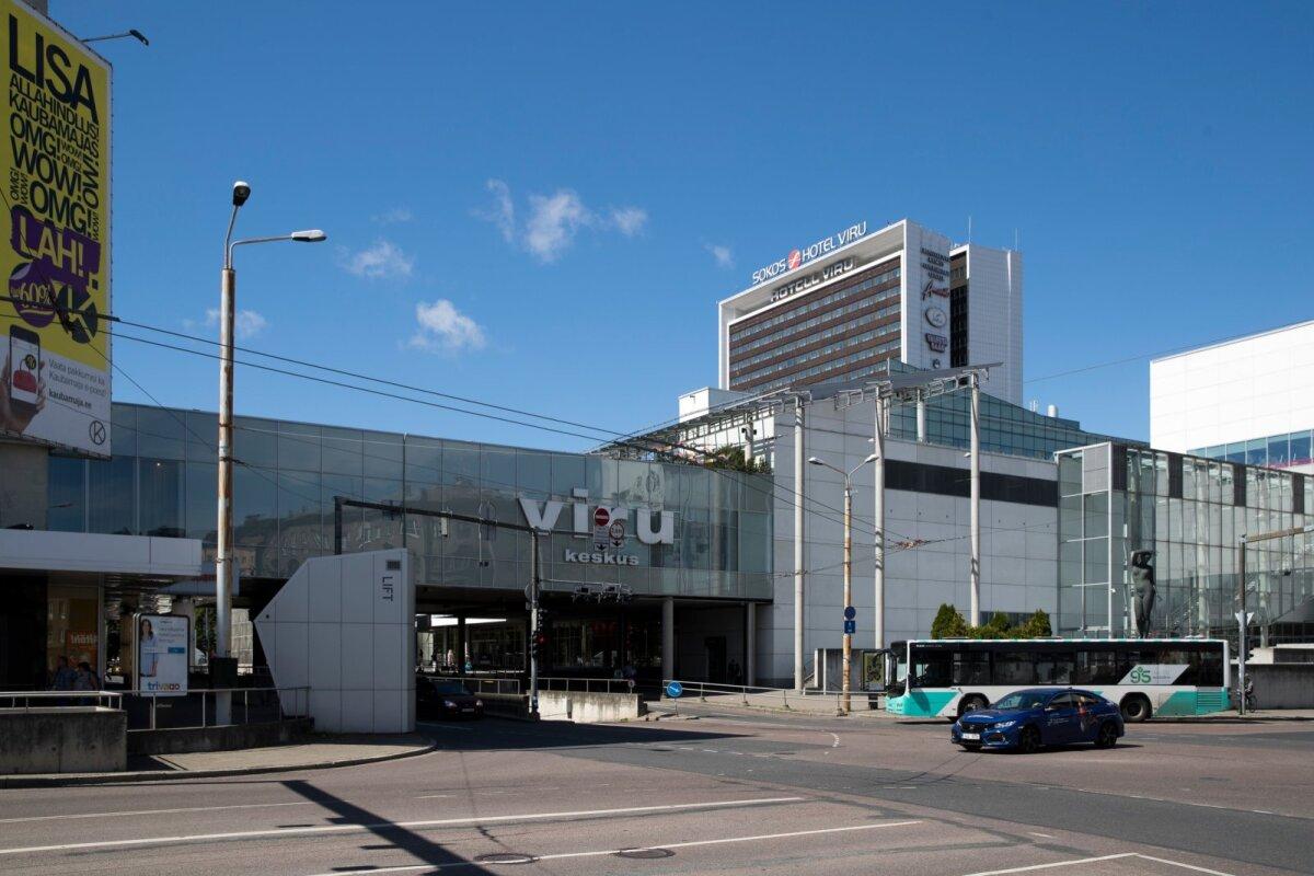 Tallinna vaated, Viru hotell, Viru keskus
