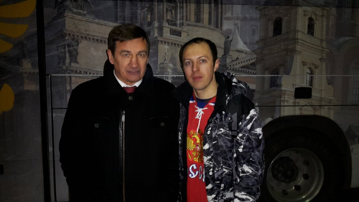 Нынешний главный тренер молодежной сборной России Валерий Брагин и Юрий