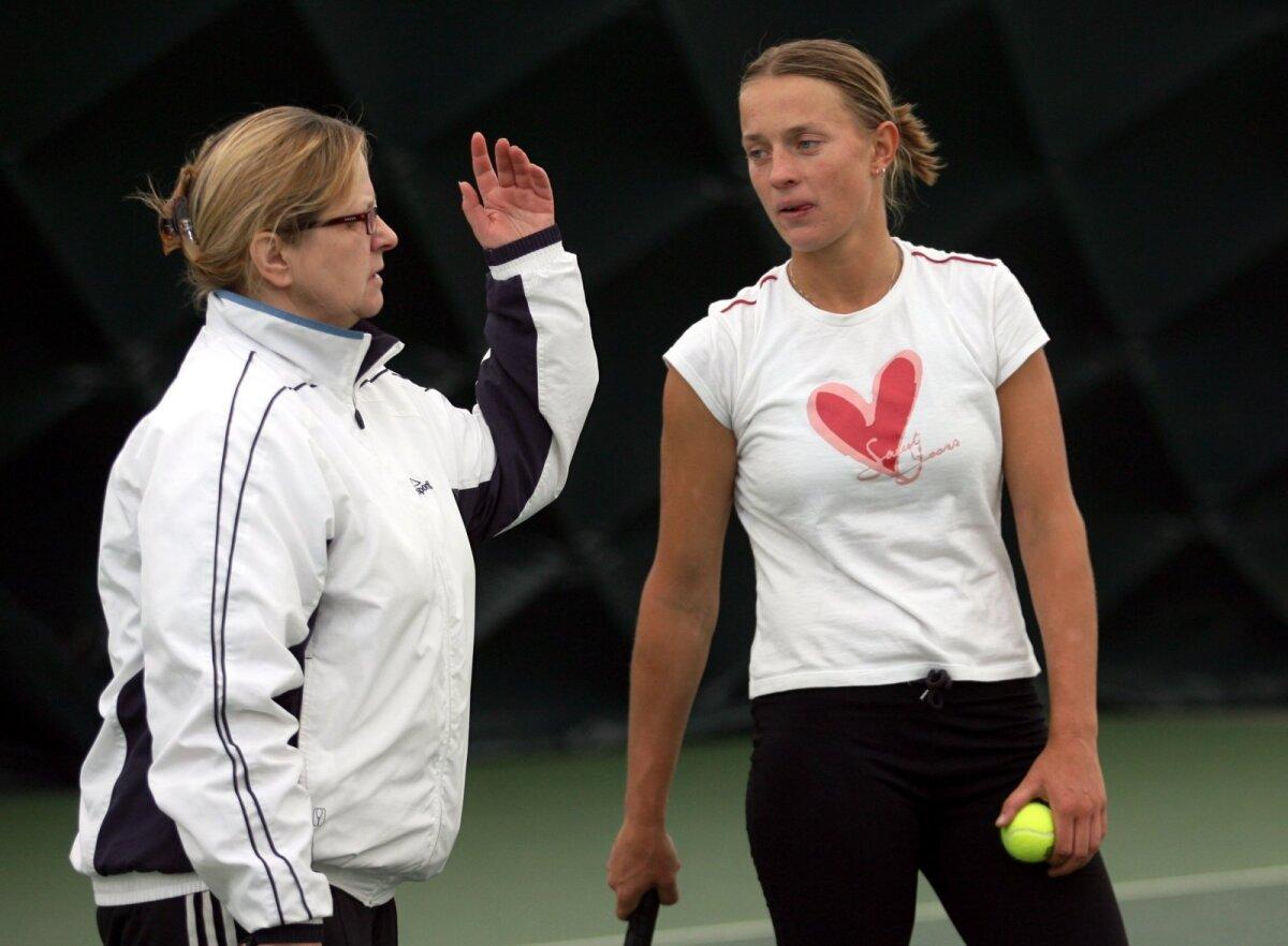 Aita Põldma ja Maret Ani 2006. aasta aprillis Tallinnas treeningul.