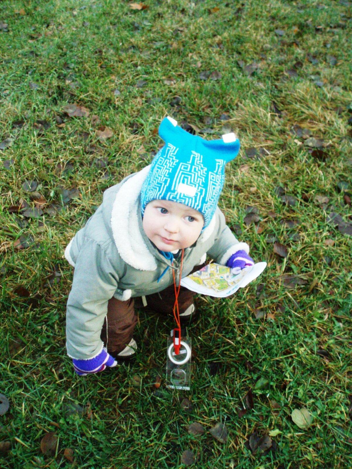 Oma poja panid nad suuskadele ning võtsid orienteeruma kaasa niipea, kui ta käima õppis