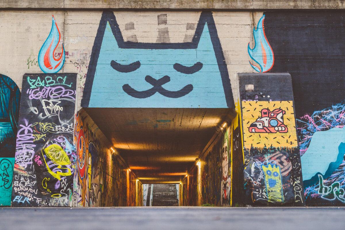 Kaunase tänavakunst.