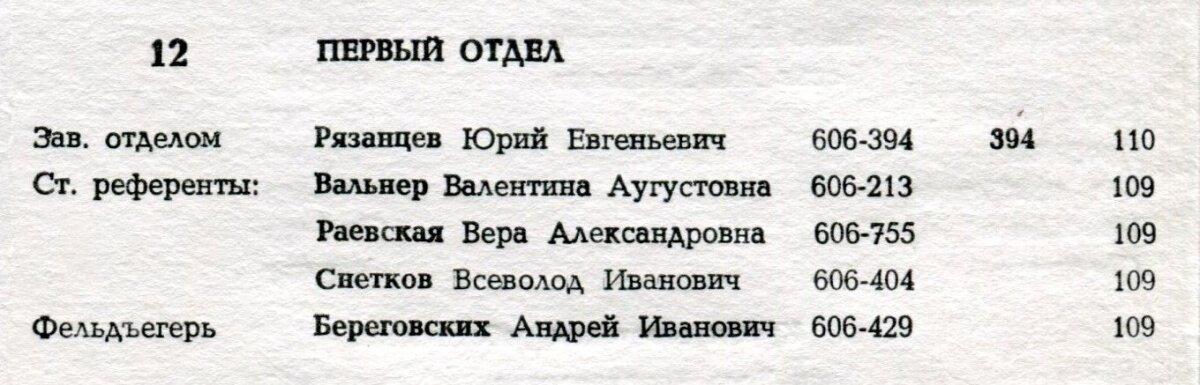 Vera Rajevskaja dokumendid