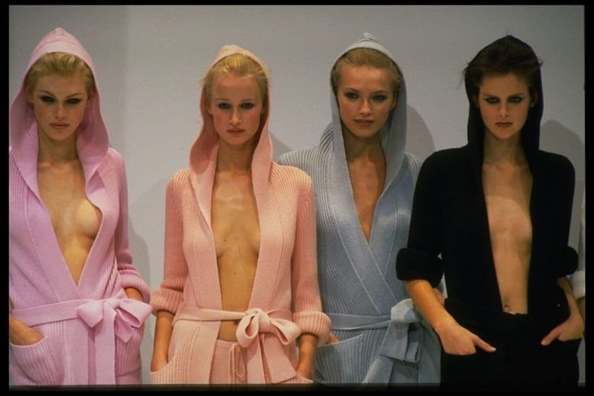 Пик популярности Теннант пришелся на вторую половину 90-х гг. На фото - коллекция Pret-a-Porter весна-лето 1997