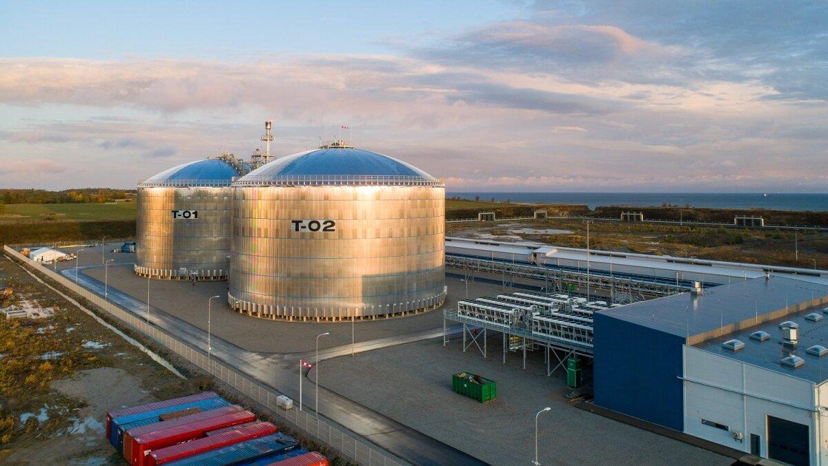 EuroChem Groupi Sillamäe ammoniaagiterminal.