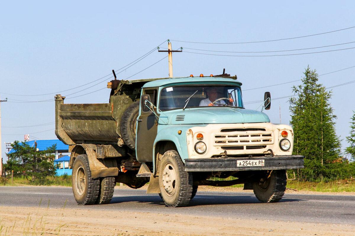 Nõukogude ajal veeti betooni ZIL kalluritega.