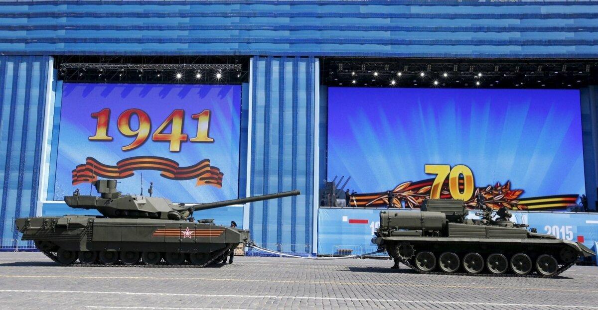 T-14 Armata sleppi võetuna