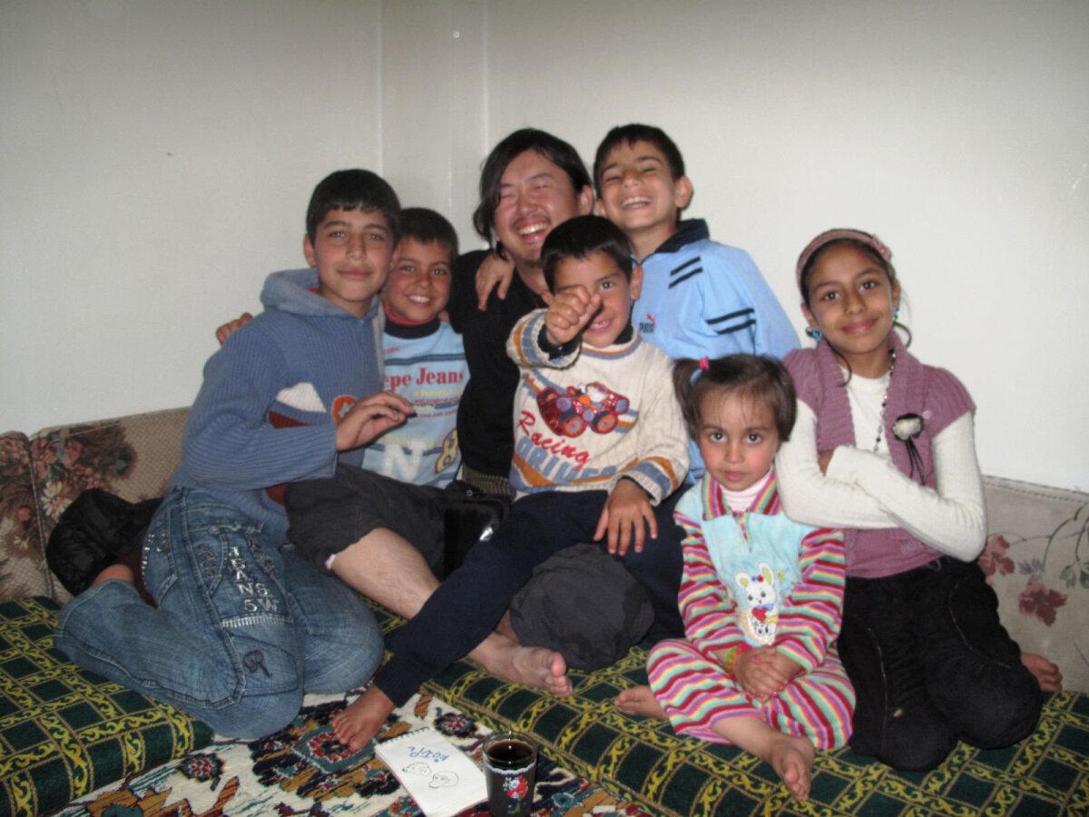 Yuji Miyata Süüria perekonnaga