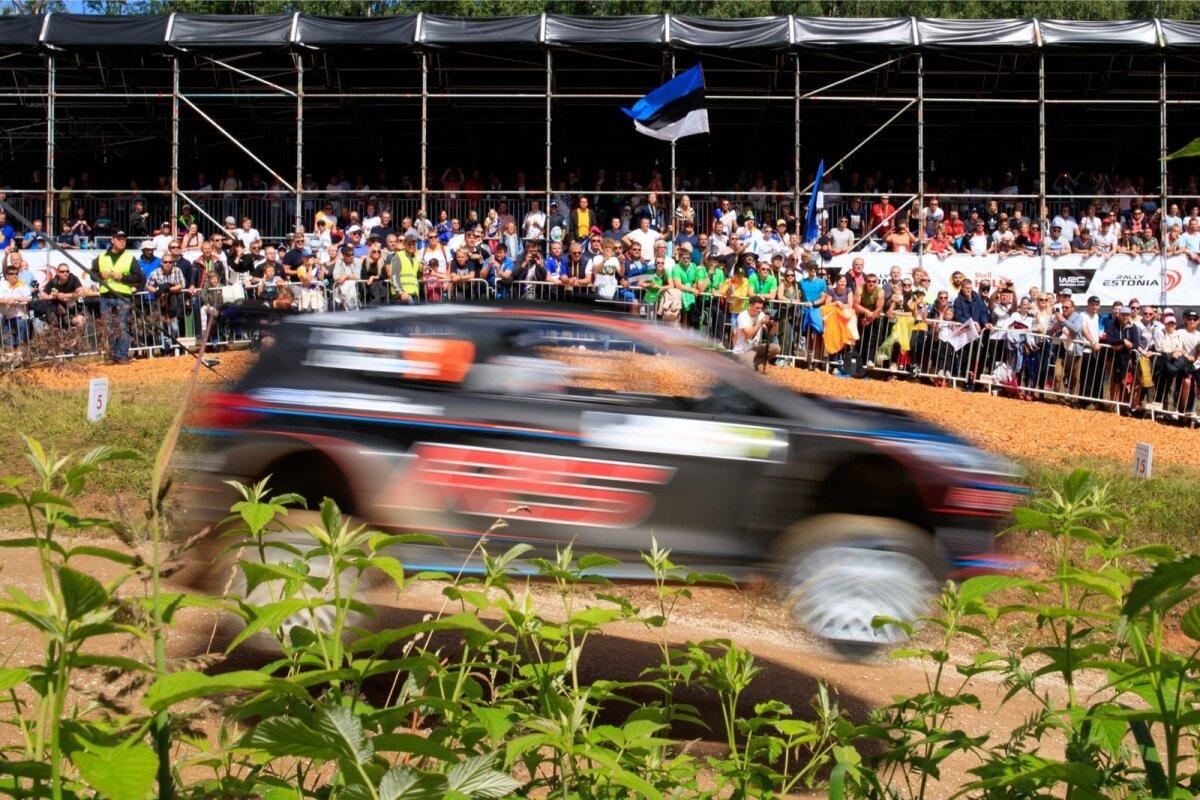 Rally Estonia SS5 Alaküla