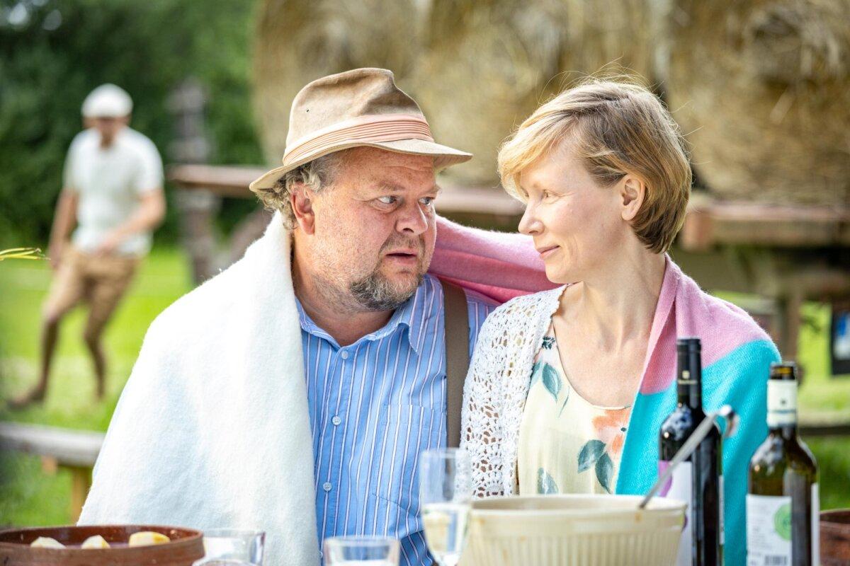 Ärni ja tema naine Laine