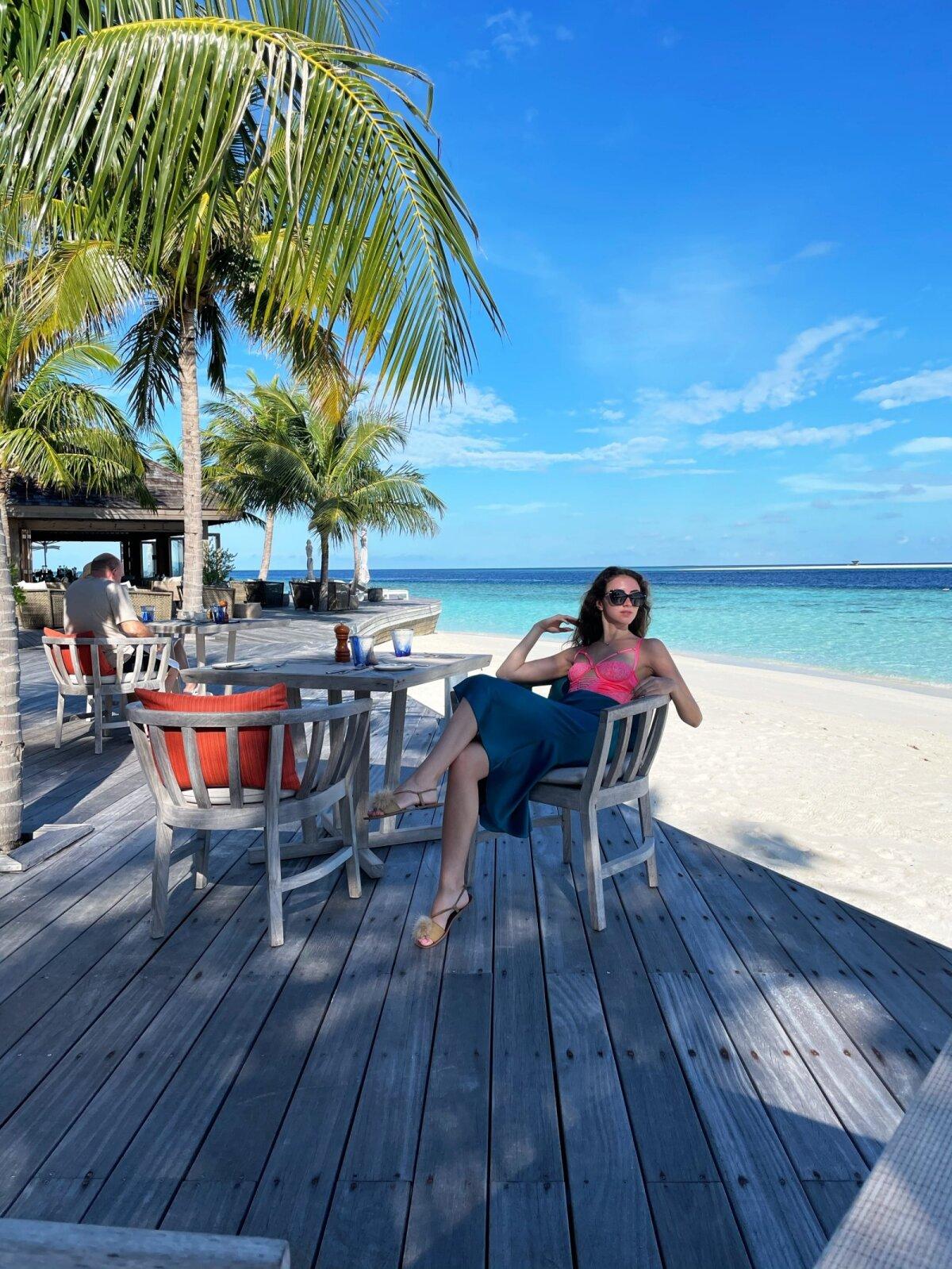 Анита Сибул чувствовала себя на Мальдивах в абсолютной безопасности