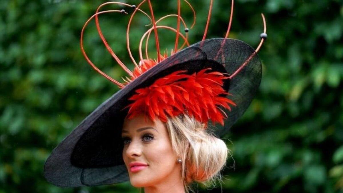 Королевские скачки в Аскоте проводятся больше 300 лет в течение пяти дней в июне, и с некоторых пор оригинальные шляпки - обязательный элемент наряда леди на этом светском мероприятии