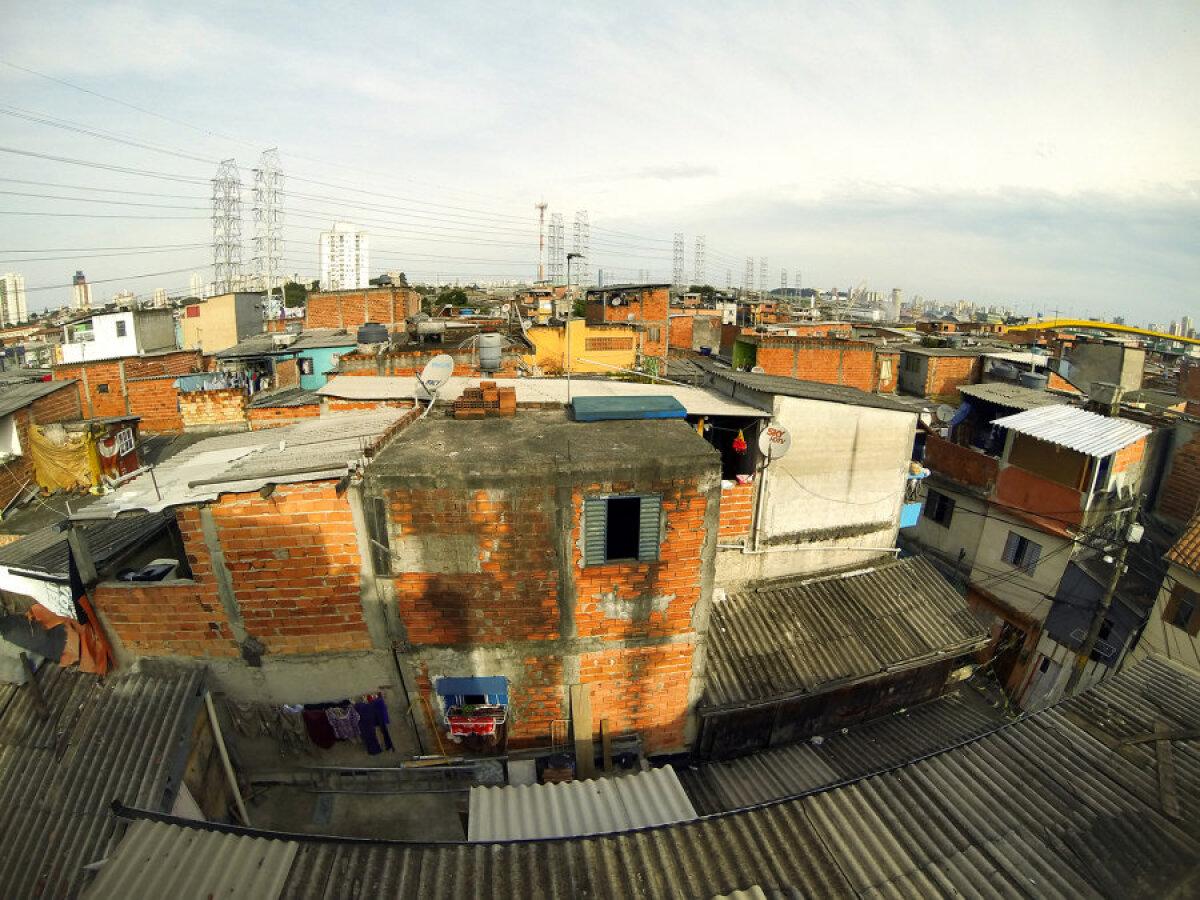 Favela Vila Prudente - katusevaade.