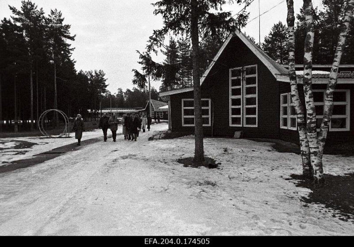 База отдыха в Ида-Вирумаа 04.1993