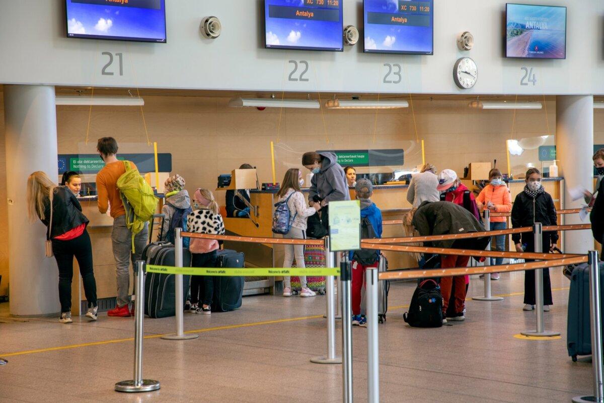На этой неделе было организовано 10 чартерных рейсов в Египет, Турцию и на Канарские острова.