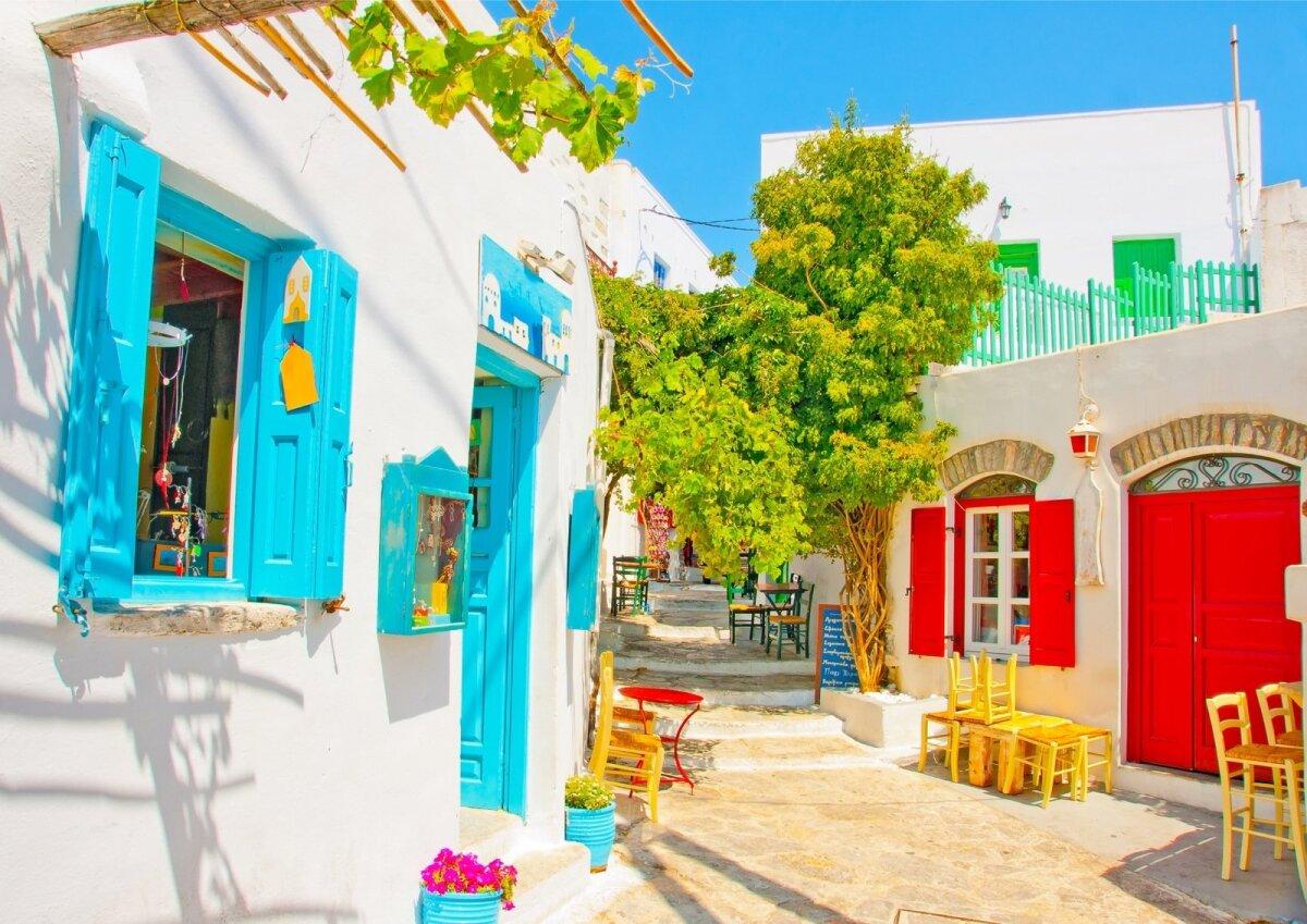Amargose saar, Kreeka