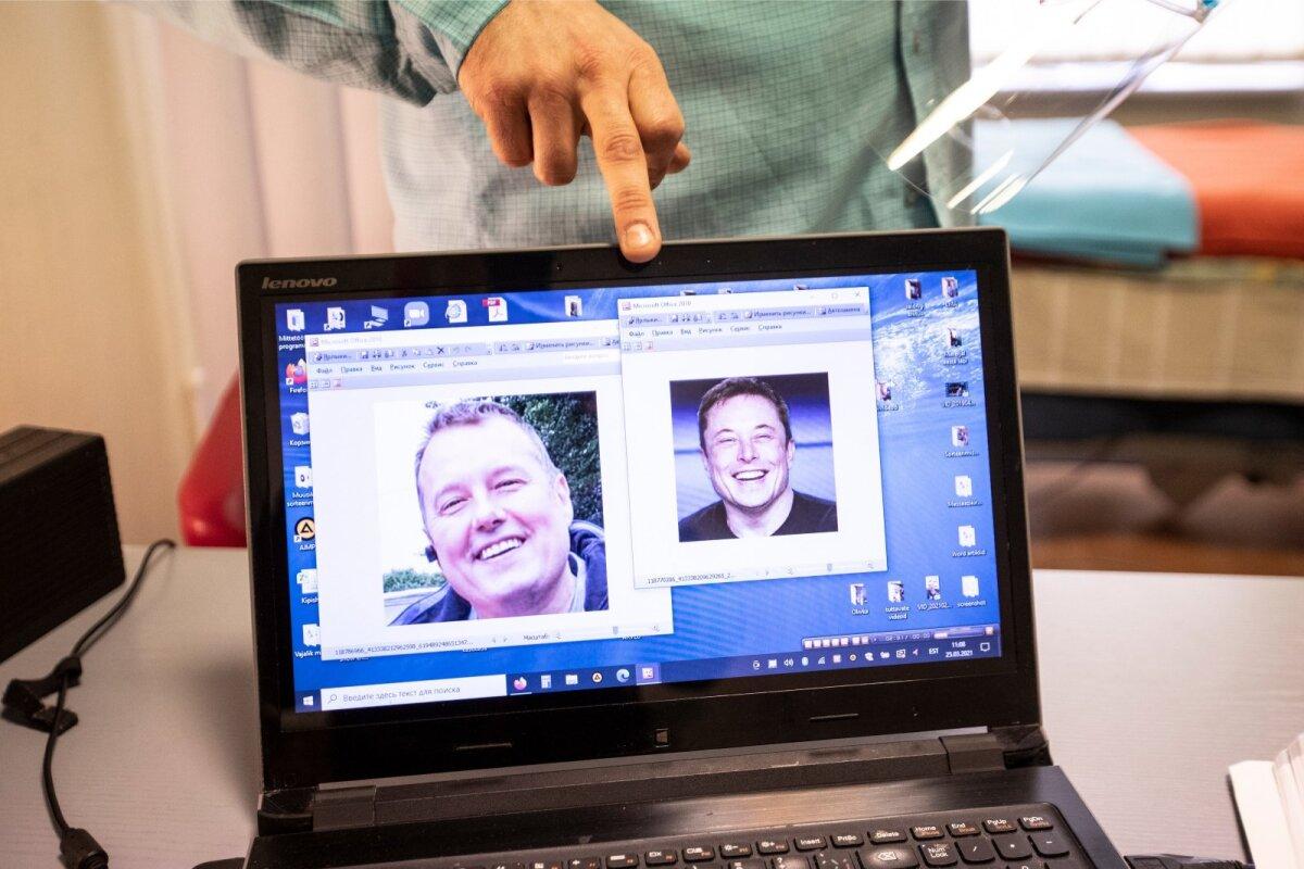 Айво указывает на случайную схожесть фотографии и Илона Маска