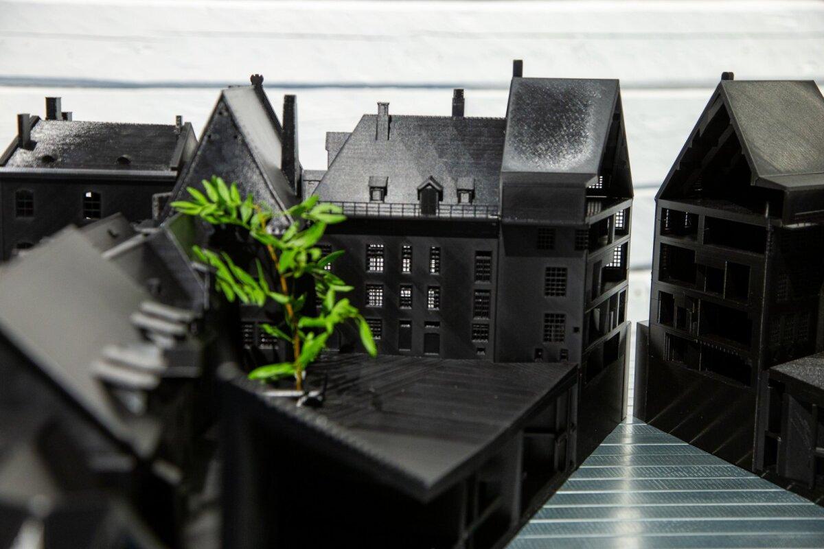 """Salto Arhitektide näitus """"Maketid"""""""