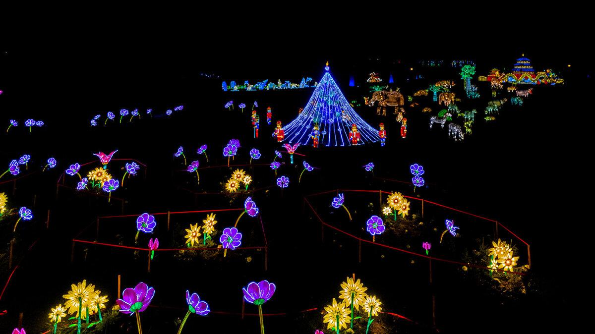 Valgusfestival Võlumaa kutsub maagilisele rännakule