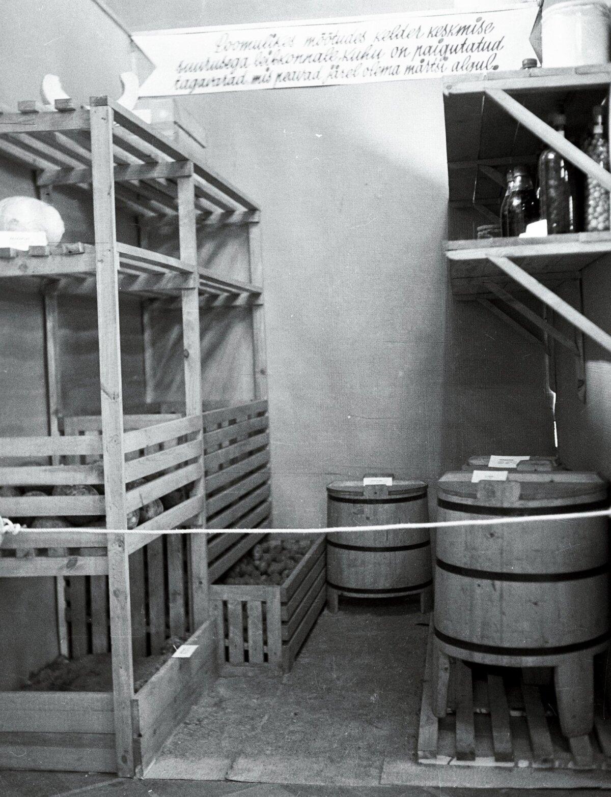Perenaine pidi nii köögis kui ka aias hea välja nägema (Maret, 9/1939).