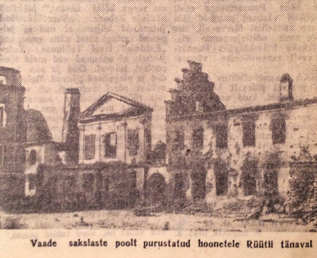 """Nõukogude liidu meelne propagandaajaleht """"Rahva hääl"""" 1944"""