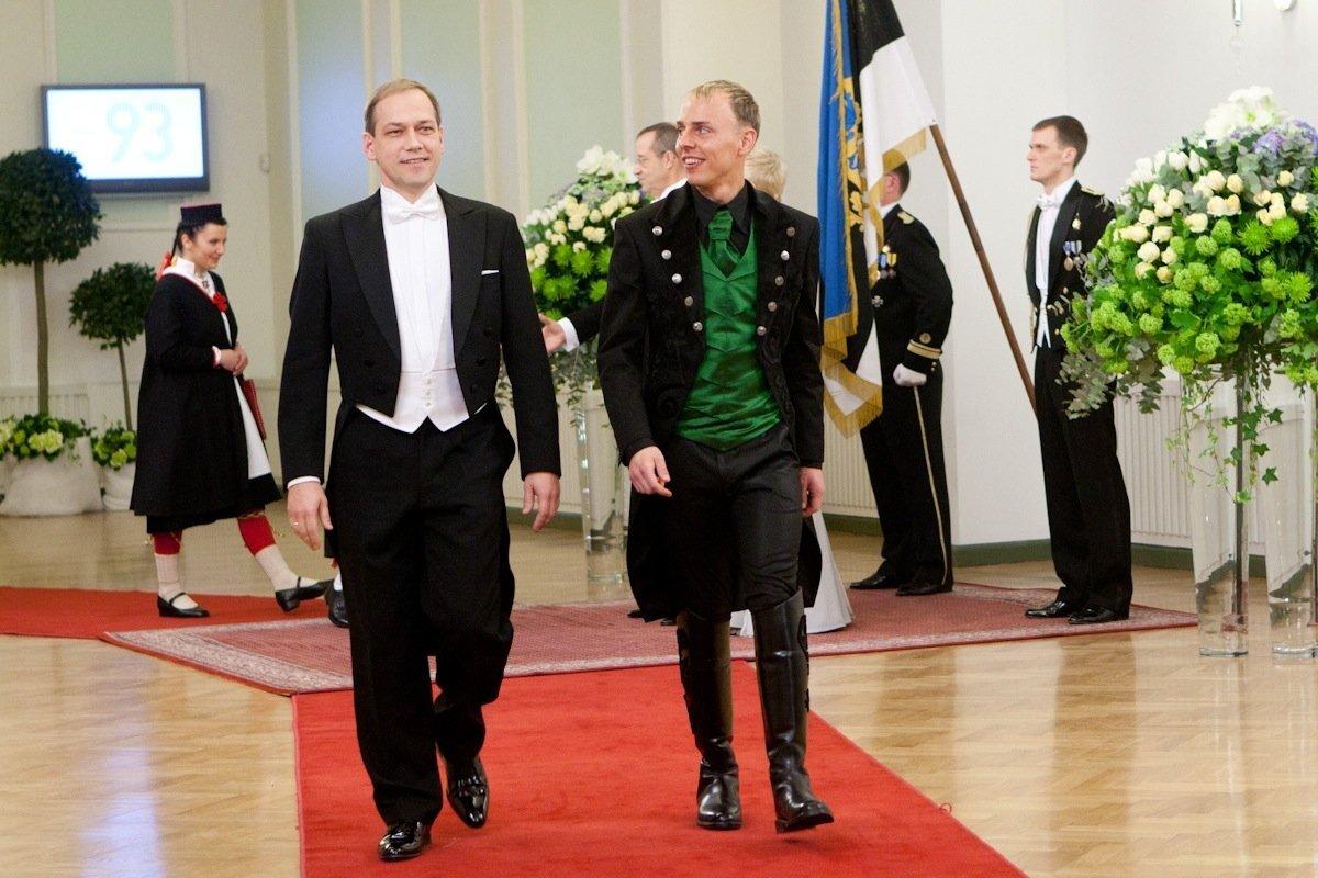 Erki Pehk, Madis Nurms, Presidendi vastuvõtt Estonias