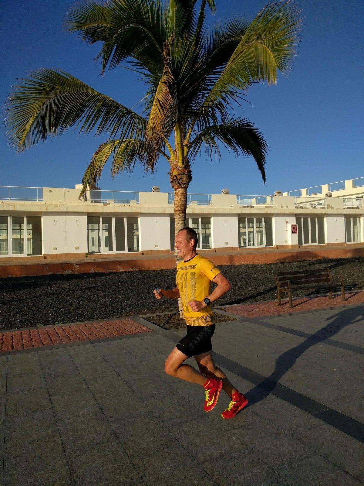 Rait Ratasepp teeb kõik võistluse ajal käimise vältimiseks ja treenib seetõttu hoogsalt jooksmist.