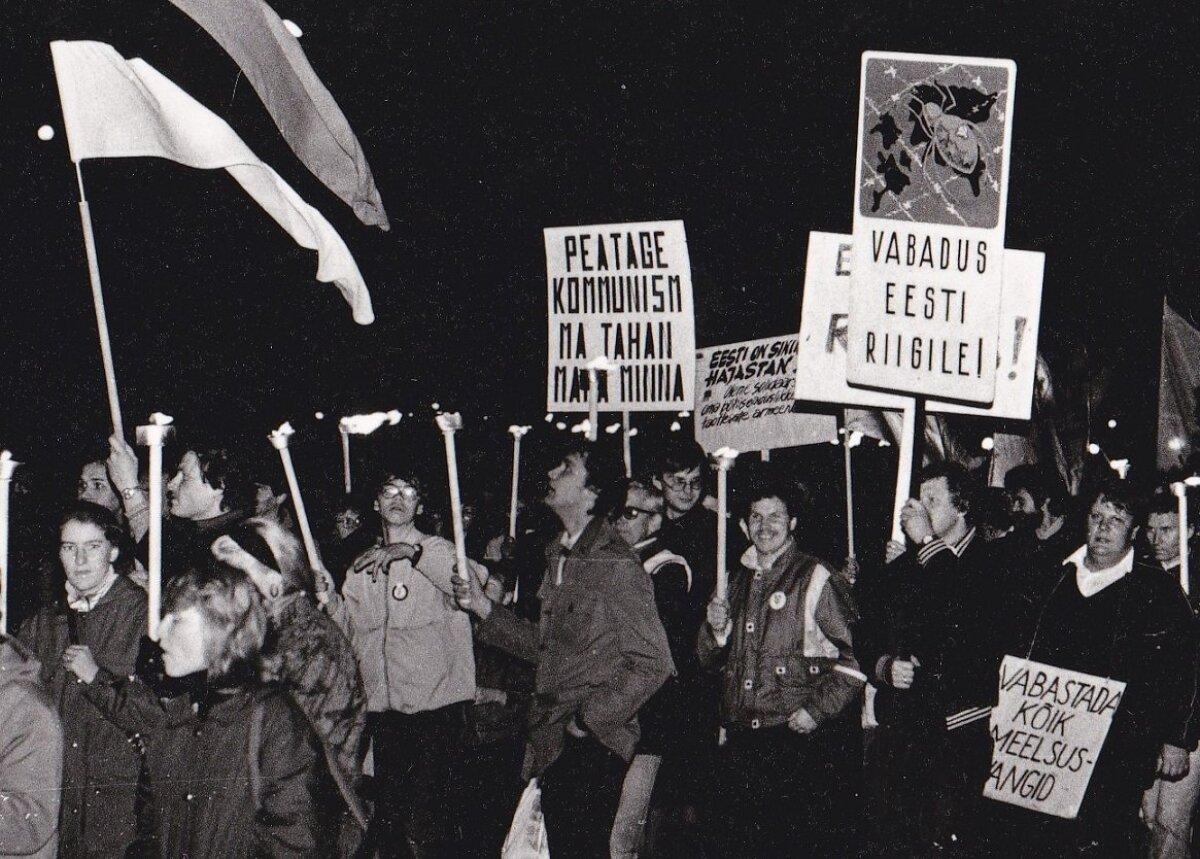 8. oktoobril 1988 Pärnus.