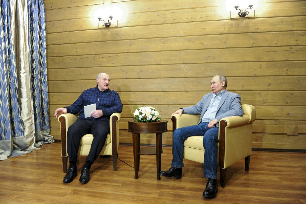 Lukašenka ja Putin