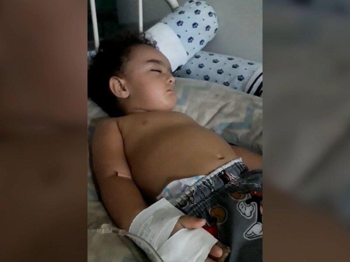 Лукас был абсолютно здоровым ребенком