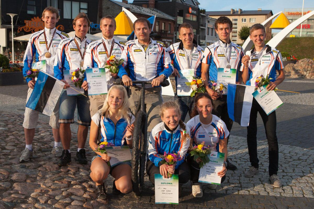 Eduka Eesti koondisega 2013. aastal kodusel MM-il Rakveres, kus nii täiskavanud kui juuniorid jõudisd medalivõitudeni
