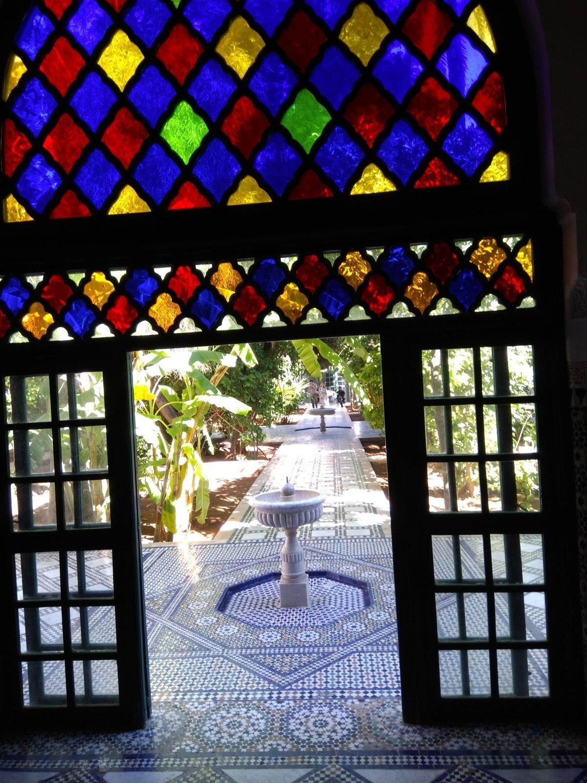 Vaade Marrakechi kunagise peavesiiri haaremile, mis nüüd on turistidele avatud.