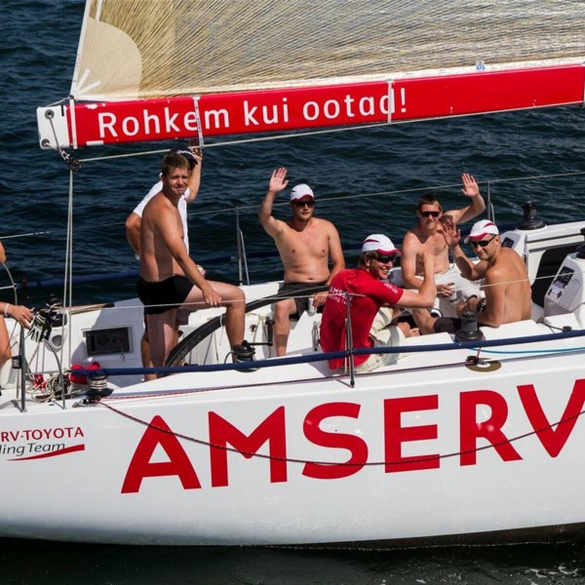Muhu väina regati esimene start 2013