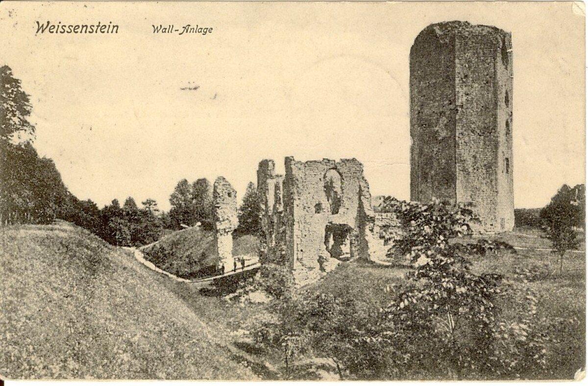 Paide ordulinnuse varemed ülemöödunud sajandivahetuse paiku.