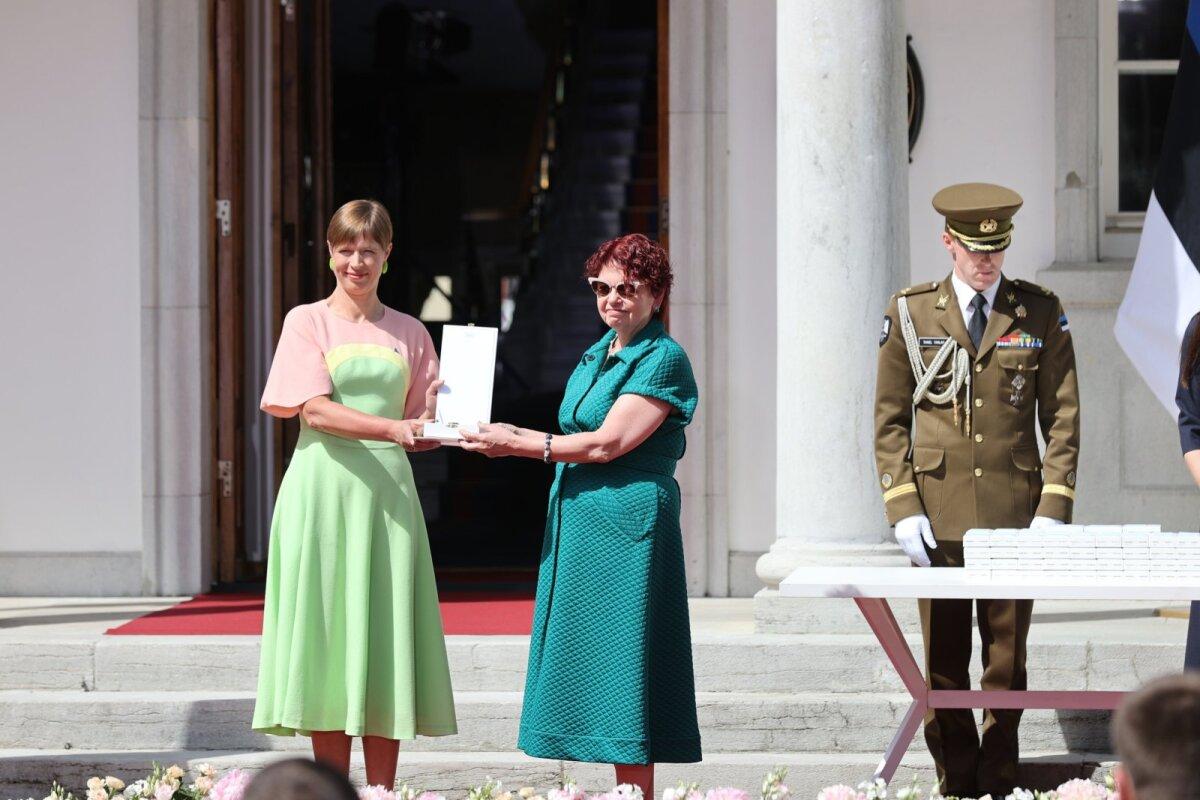 Kersti Kaljulaid ja Irja Lutsar