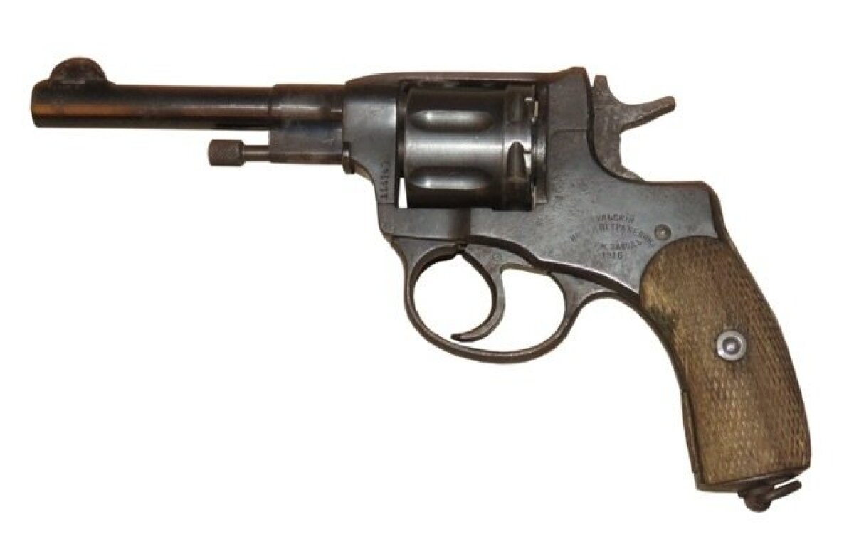 Revolver Nagant M1895 (7,62 mm x 38R), Tuula keiserlik relvatehas 1916