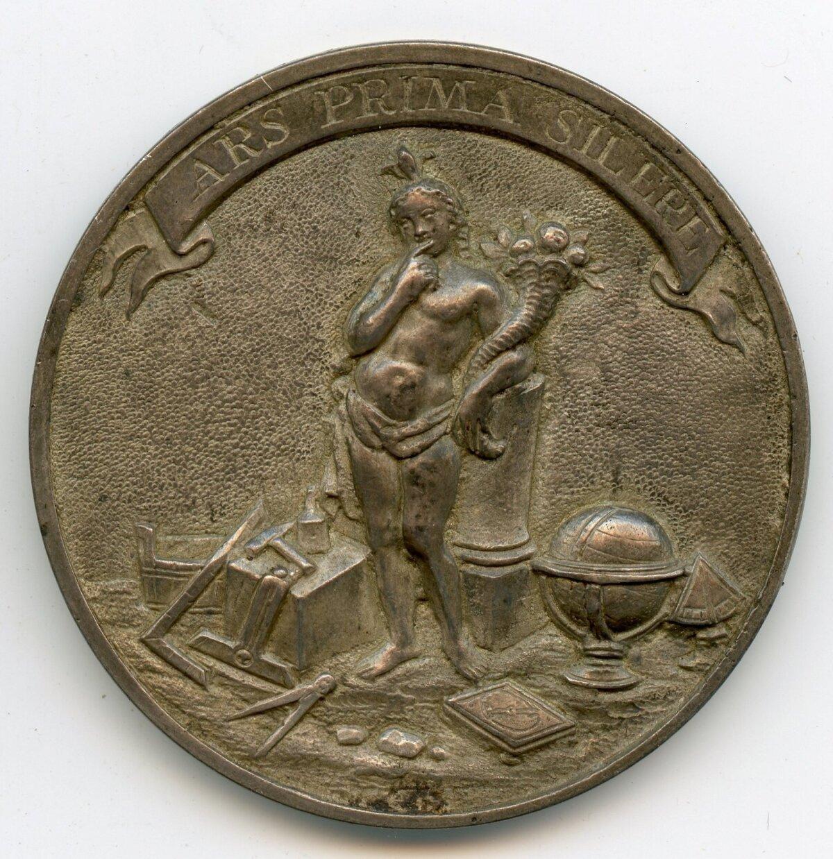 """СЕКРЕТЫ МАСОНСТВА: Медаль вольных каменщиков """"Молчание — самое большое из искусств"""". 18-й век. Фото: коллекция Эстонского исторического музея"""