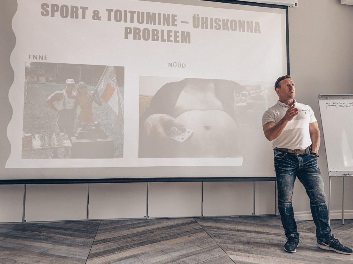 Ott Kiivikas Spordinädala sündmustel