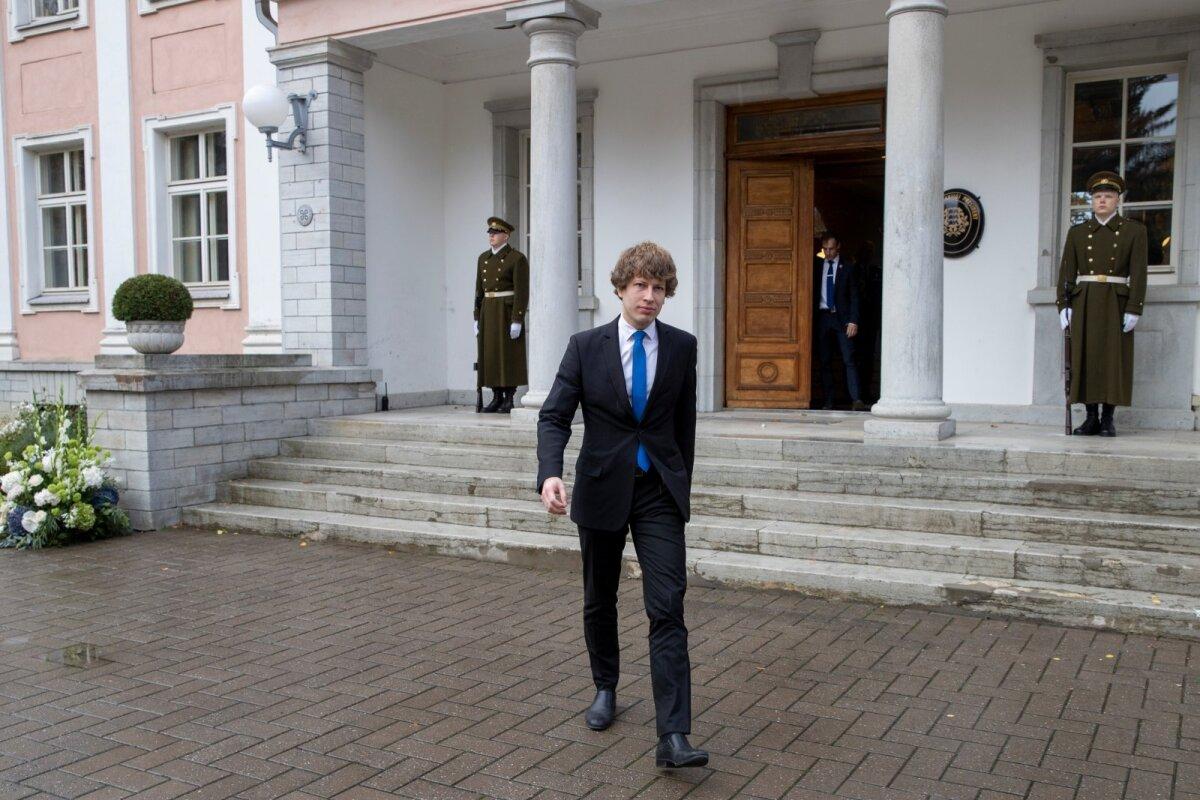 Ministri ja presidendi kohtumine kestis veidi alla tunni.