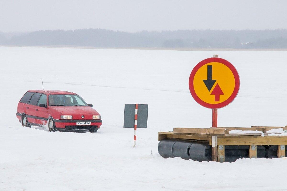 Neljapäeval, 8. märtsist on alates kella 8 avatud Tärkma–Triigi ehk Saaremaa–Hiiumaa vaheline jäätee sõidukitele massiga kuni 2,5 tonni.