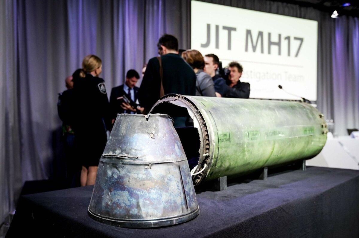 VENE SÕJAVÄE RAKETT: Jäänused BUK-TELAR raketist, millega lasti alla lend MH17.