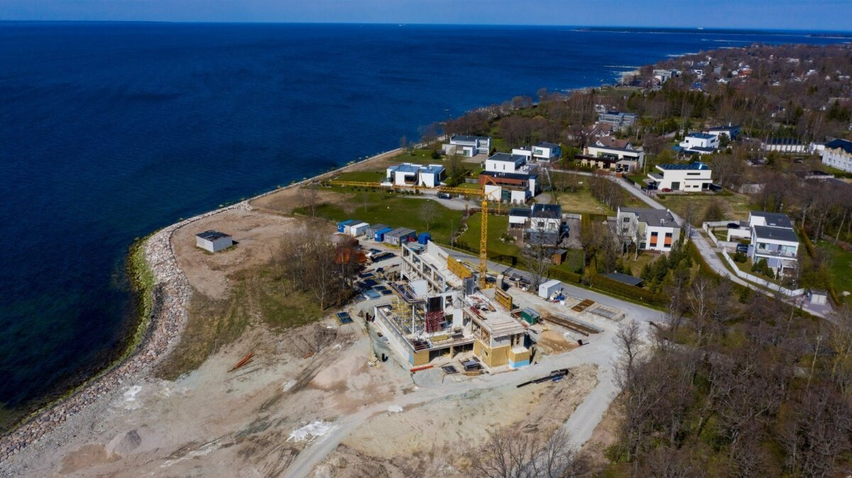 UUS MEREVAATEGA KODU TALLINNA LAHE ÄÄRES: Margus Kangro villa valmimisajaks on planeeritud oktoober 2021.