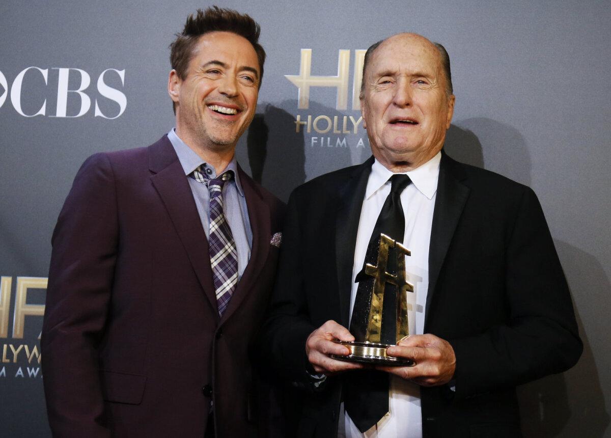 Robert Downey Jr ja Robert Duvall