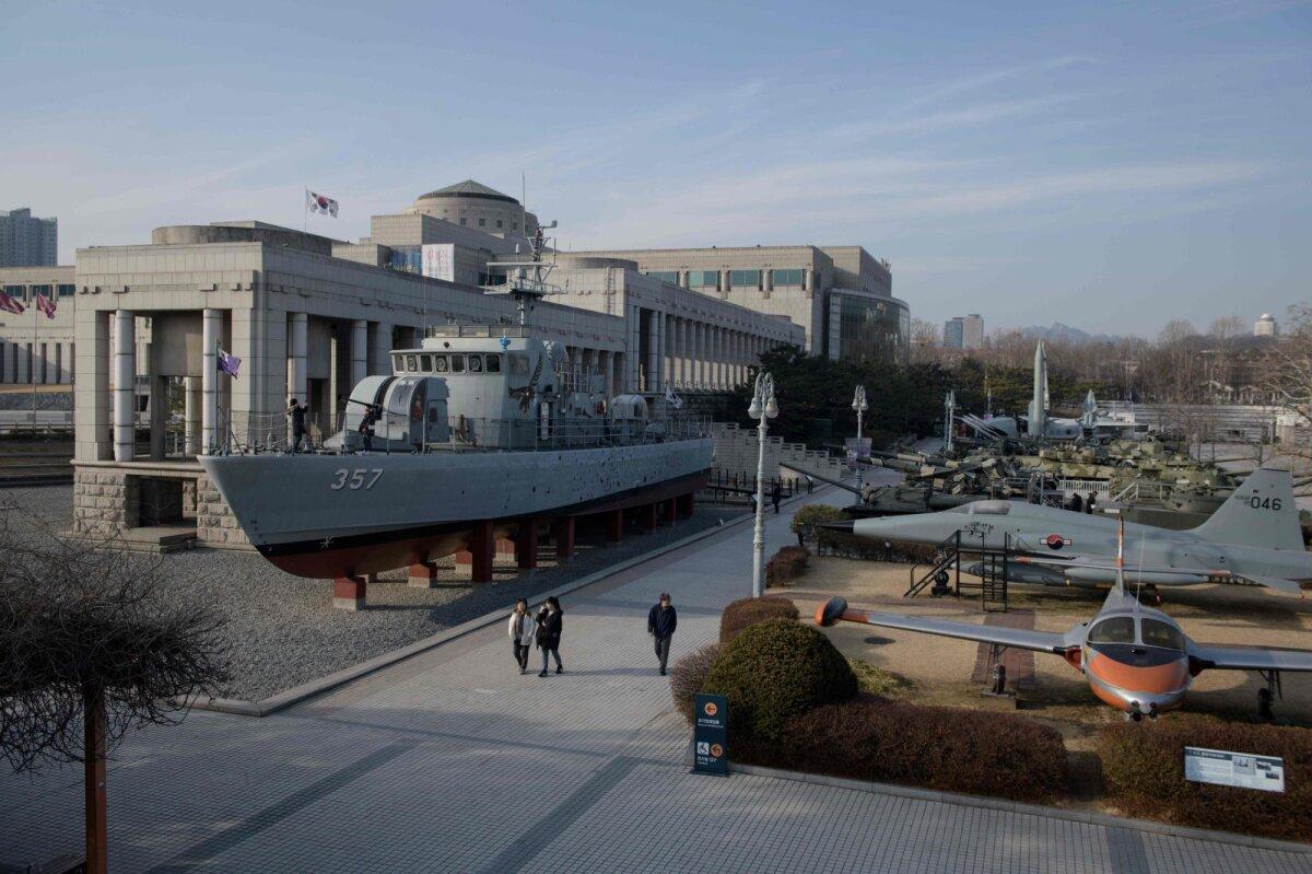 Souli sõjamuuseum, kus näeb Põhja-Koreaga võrreldes täiesti teist käsitlust Korea sõjast.