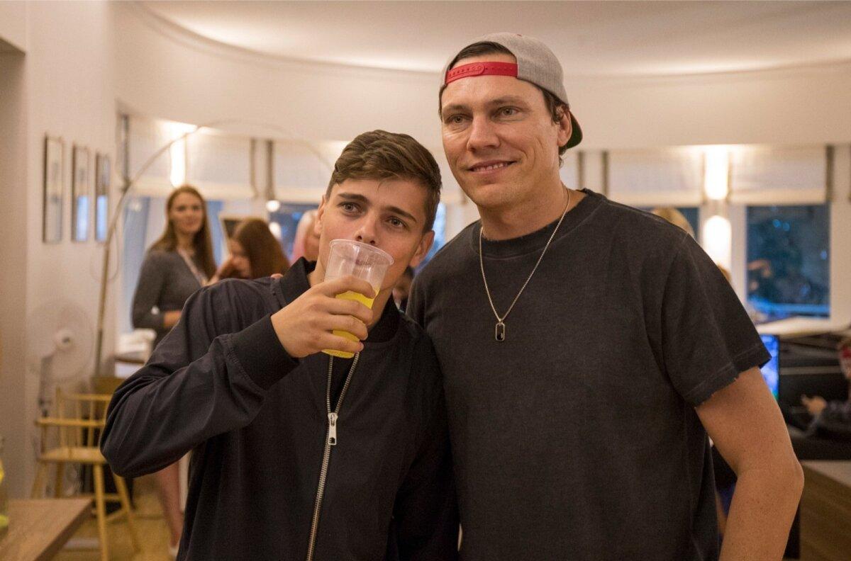 Number üks ja kaks DJ maailmas, Martin Garrix ja Tiesto Pärnu rannahotellis